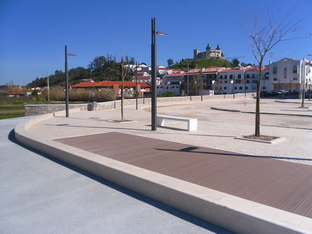 Ribeirinha de Porto Mós construída pela Soteol em 2013