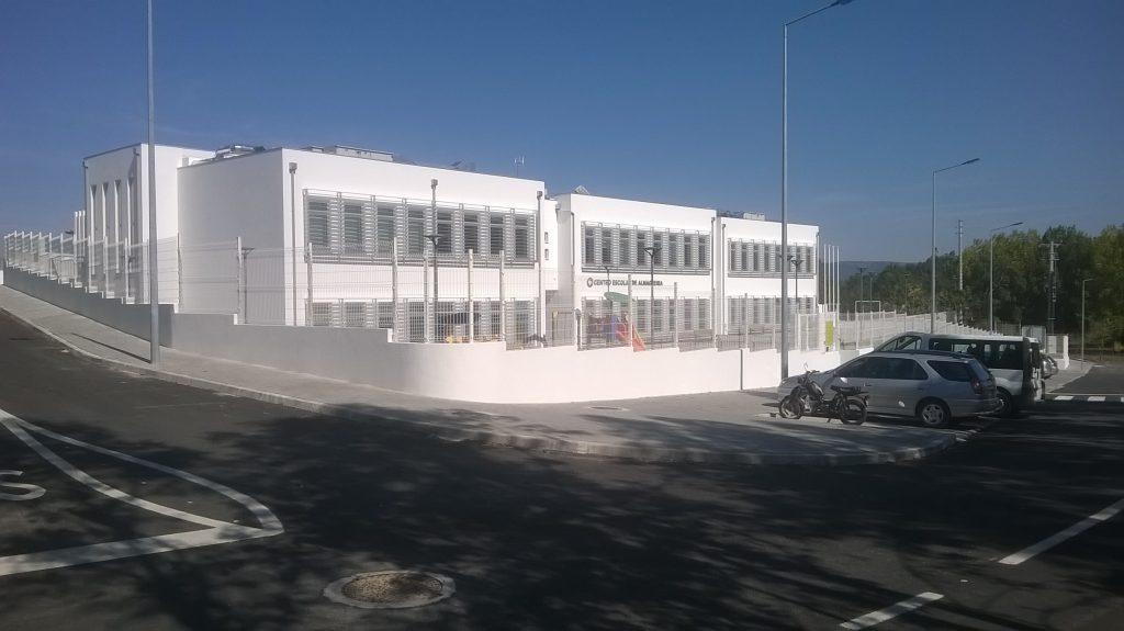 Centro Escolar da Almagreira construído pela Soteol em 2015